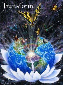 transform butterfly healing art pop up art show